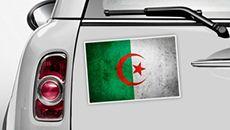 Algerien Flagge - WM 2014 Sticker