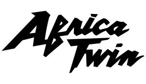 Africa Twin Classic Aufkleber einfarbig