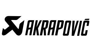 Akrapovic Aufkleber Logo - Sponsoren Sticker Motorrad
