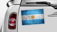 Argentinien Flagge - WM 2014 Sticker