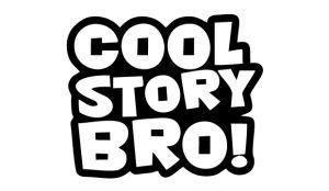 Cool Story Bro - Sprüche Aufkleber