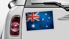 Australien Flagge - WM 2014 Sticker