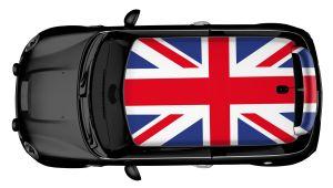 MINI Dachdesign Folie - Mini Cooper UK Flag
