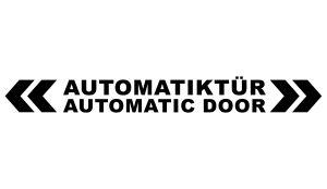 Autosticker - Automatiktür Aufkleber einfarbig