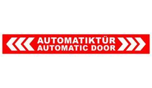 Autosticker - Automatiktür Aufkleber