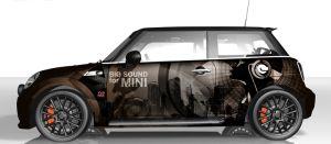 MINI Vollfolierung - The Sound Machine