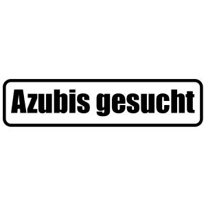 Azubis gesucht Aufkleber