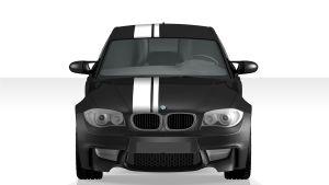BMW Tii Rennstreifen - Front