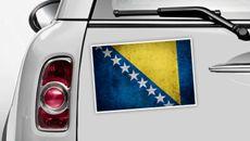 Bosnien und Herzegowina Flagge - WM 2014 Sticker
