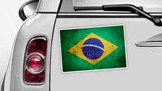 Brazilien Flagge - WM 2014 Sticker