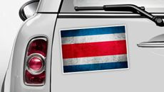 Costa Rica Flagge - WM 2014 Sticker