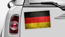 Deutschland Flagge - WM 2014 Sticker