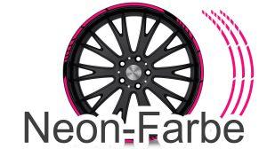 Felgenrandaufkleber GP Style Neon Pink