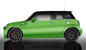 MINI Vollfolierung - Glänzend Alien Green