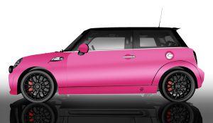 MINI Vollfolierung - Glänzend Energy Pink