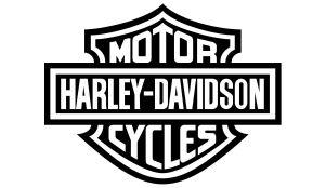 Harley-Davidson Aufkleber einfarbig