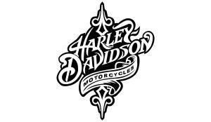 Harley-Davidson Motorcycles Aufkleber einfarbig