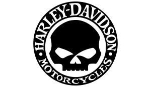 Harley-Davidson Skull Aufkleber