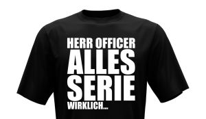 T-Shirt - Herr Officer