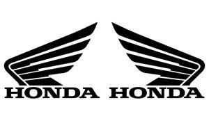 Honda 1 Set - Sponsoren Aufkleber
