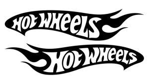 Hot Wheels Set - Sponsoren Aufkleber