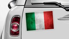 Italien Flagge - WM 2014 Sticker