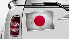 Japan Flagge - WM 2014 Sticker