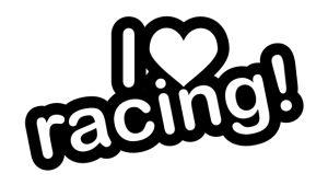 JDM Aufkleber - I love racing