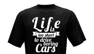 T-Shirt - Life is too short