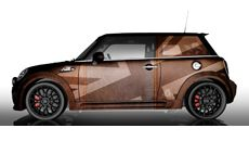 MINI Folierung - The Leather Woody - Galerie