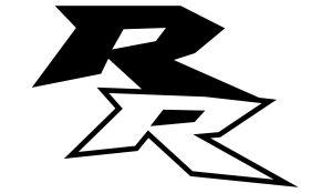 Honda RR - Motorrad Sponsoren Aufkleber