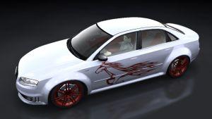 Auto Sticker - Mustang
