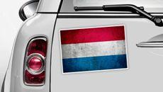 Niederlande Flagge - WM 2014 Sticker