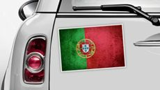 Portugal Flagge - WM 2014 Sticker