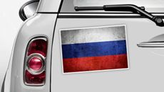 Russland Flagge - WM 2014 Sticker
