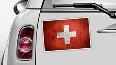 Schweiz Flagge - WM 2014 Sticker