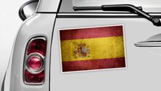 Spanien Flagge - WM 2014 Sticker