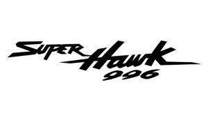 Honda Super Hawk - Sponsoren Aufkleber Motorrad