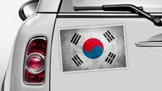 Südkorea Flagge - WM 2014 Sticker