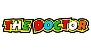 The Doctor Valentino Rossi - Motorrad Aufkleber