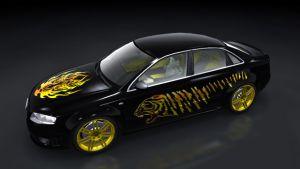Auto Sticker - Tiger