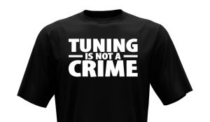 T-Shirt - Tuning is not a crime