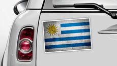 Uruguay Flagge - WM 2014 Sticker