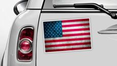 USA Flagge - WM 2014 Sticker