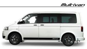 VW Multivan Seitenstreifen Zierstreifen